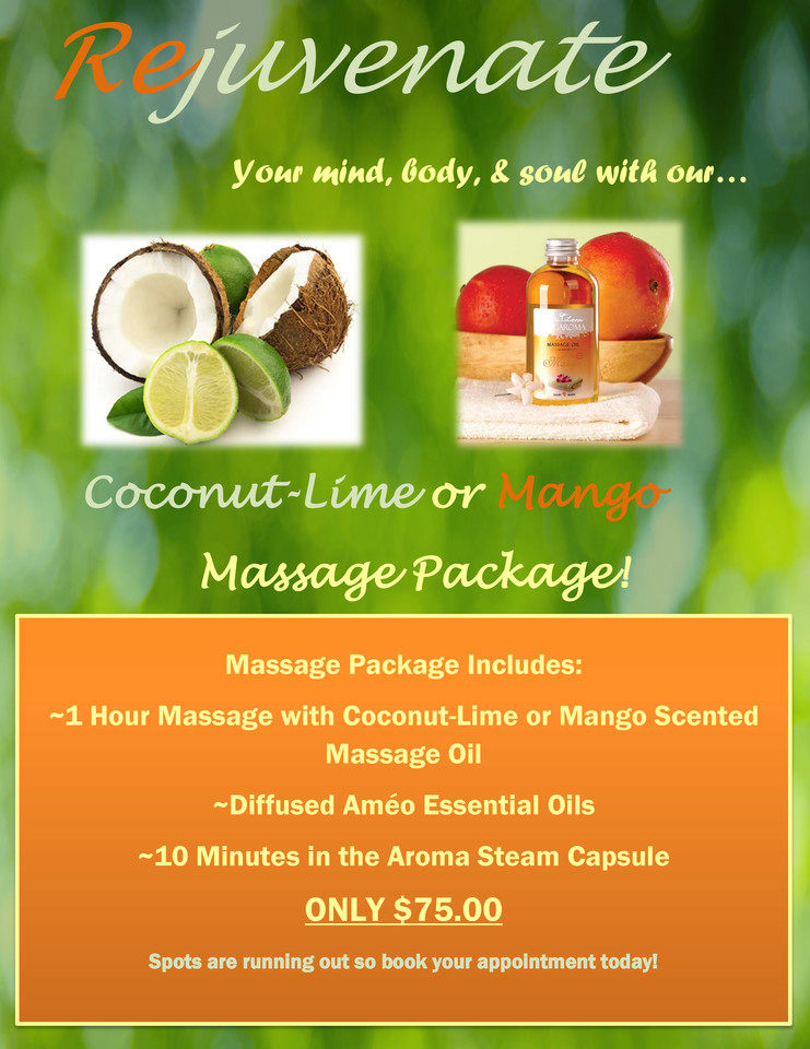 August Massage Special - Only 75