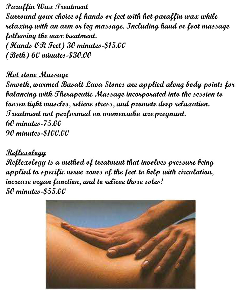 Image Showing More Massage Services
